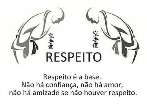 respeito é bom e eu gosto